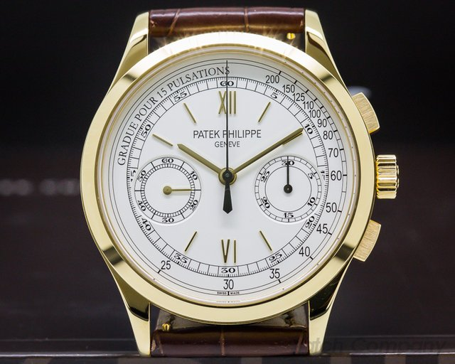 Patek Philippe 5170J-001 Chronograph 18K Yellow Gold Pulsation Dial UNWORN