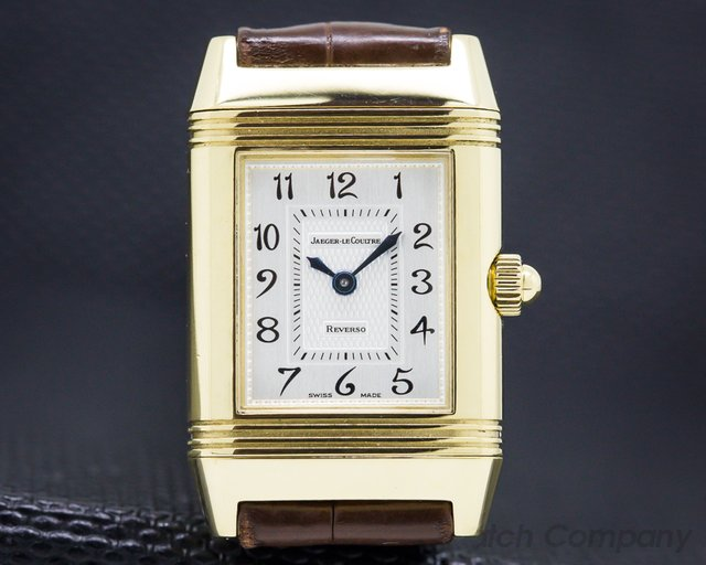 Jaeger LeCoultre Q266144 Duetto Manual Wind 18K Yellow / Diamond MOP