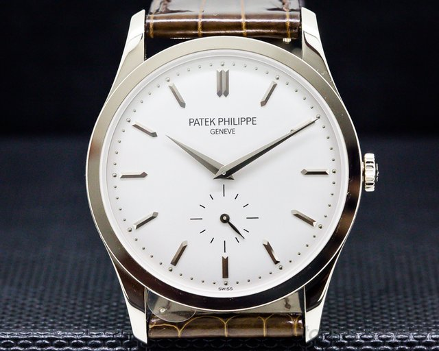 Patek Philippe Calatrava 18K White Gold Manual Wind