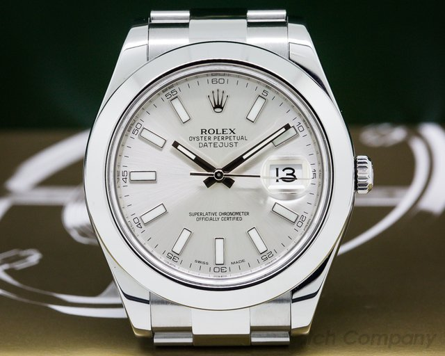 Rolex Datejust II SS Silver Dial