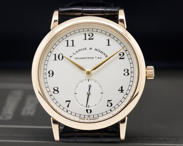 A. Lange and Sohne 1815 18K Rose Gold Silver Dial