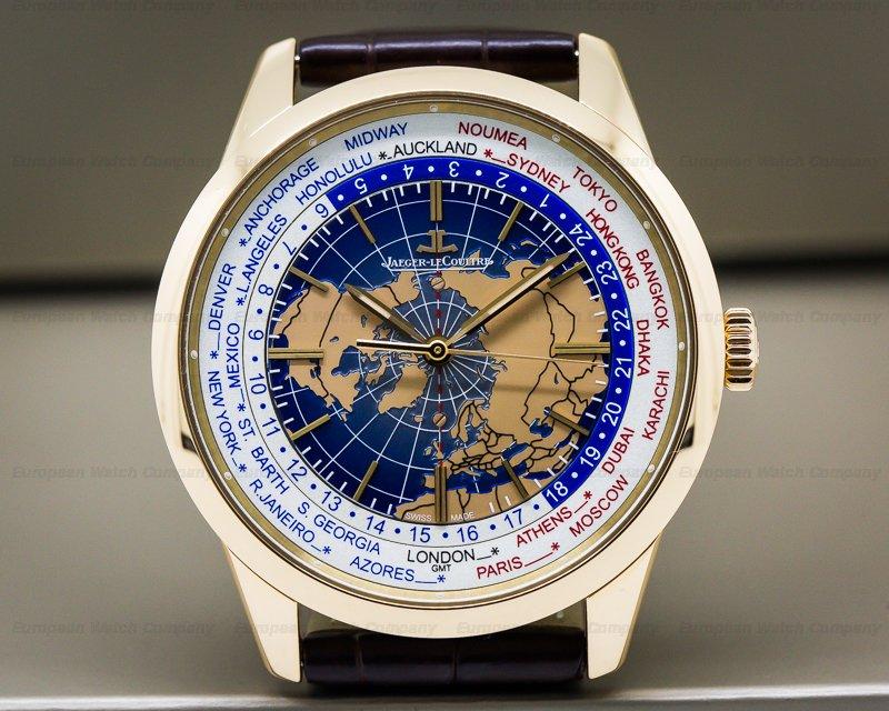 Jaeger LeCoultre Q8102520 Geophysic Universal Time True Second 18k Rose Gold UNWORN