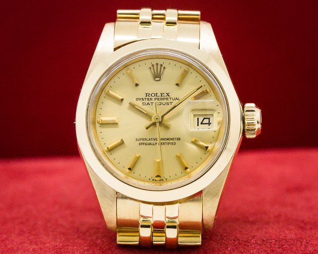 Rolex 6916 Lady Datejust 18k Yellow Gold Jubille