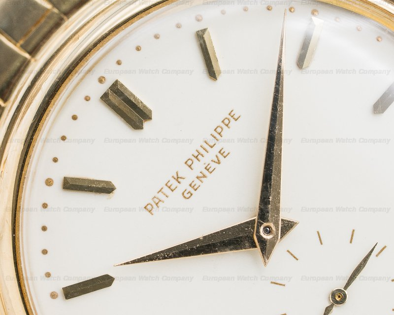 Patek Philippe 2526 Vintage Calatrava Automatic Enamel 18K Yellow Gold / Bracelet