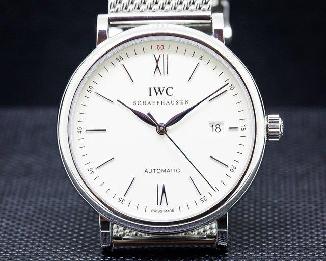 IWC IW356505 Portofino Automatic SS / SS Silver Dial