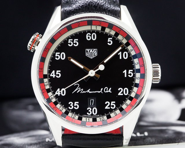 TAG Heuer Carrera Calibre 5 Tribute to Muhammad Ali