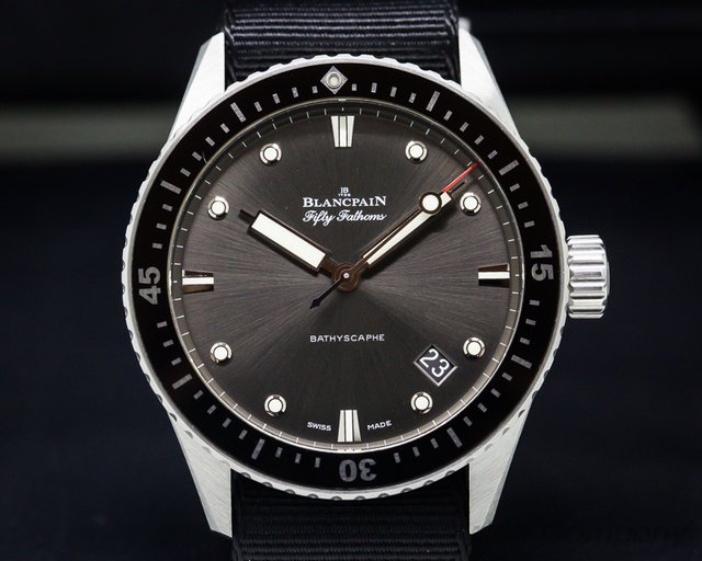 Blancpain 5000-1110-NABA Fifty Fathoms Bathyscaphe Stainless Steel