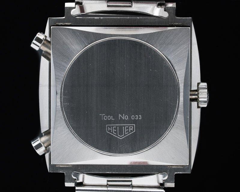 "Heuer 1133B Vintage Monaco ""Steve McQueen"" Blue Dial SHARP"
