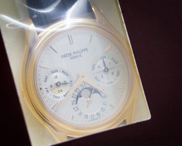 Patek Philippe 3940R-011 Perpetual Calendar Rose Gold DOUBLE SEALED RARE