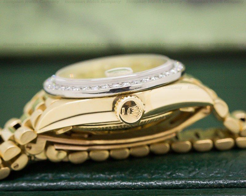 Rolex 69178 Datejust YG/YG President/Diamond Bezel