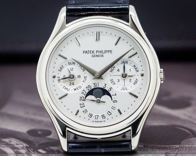 Patek Philippe 3940G Perpetual Calendar 18K White Gold