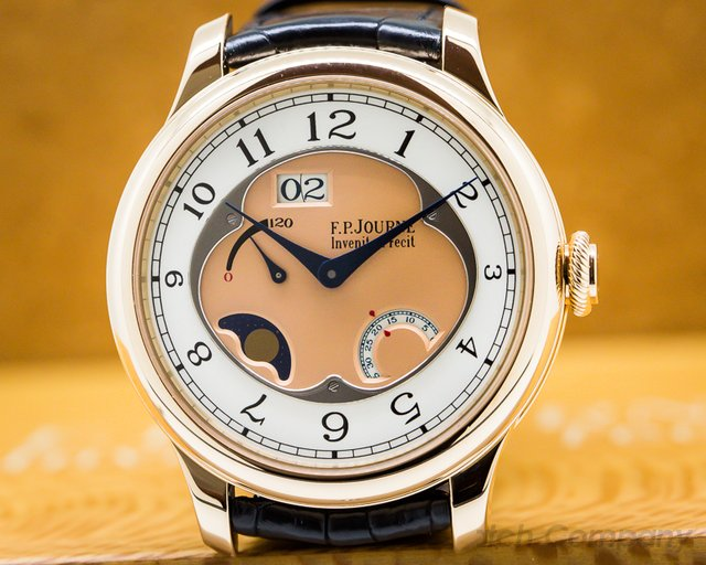 F. P. Journe  Octa Divine 18K Red Gold / Rose Dial 42mm UNWORN