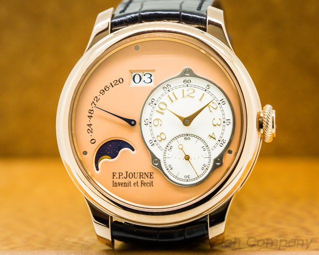F. P. Journe  Octa Lune Red Gold / Red Gold Dial 42MM UNWORN