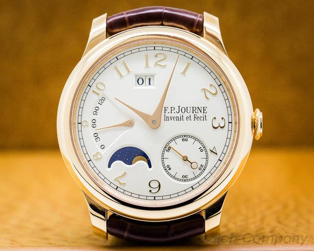 F. P. Journe Octa Automatique Lune Octa Automatique Lune Red Gold / Gold Numbers 40mm UNWORN