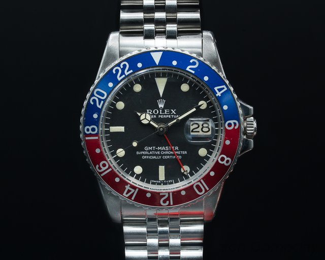 Rolex 1675 Vintage GMT Master FIRST SERIES Matte Dial Small Triangle