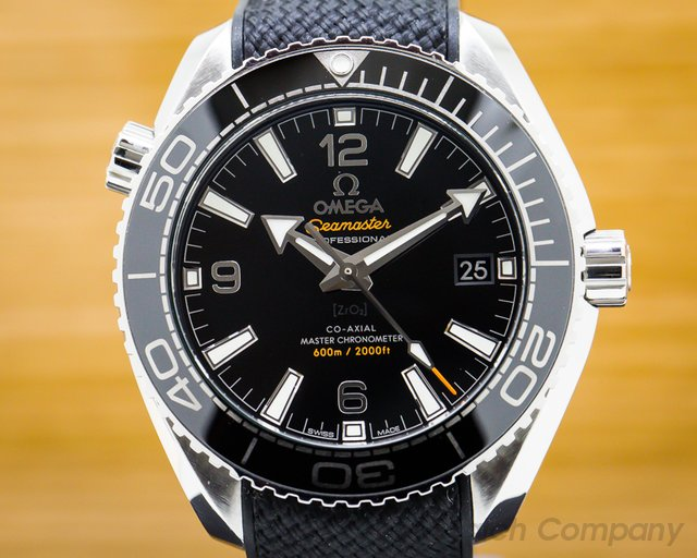 Omega 215.33.40.20.01.001 Seamaster Planet Ocean Co-Axial Black Dial 39.5MM