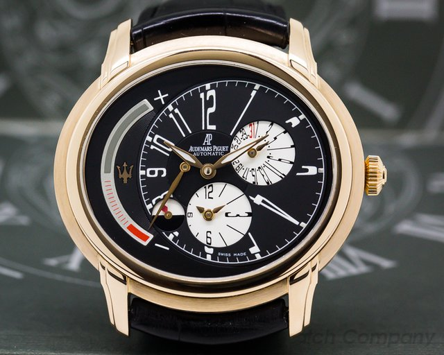 Audemars Piguet 26150OR.OO.D003CU.01 Millenary Automatic Maserati 18k Rose Gold LIMITED