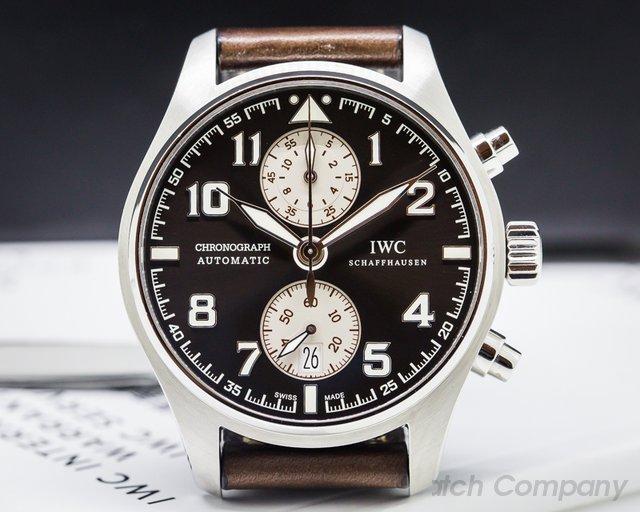 IWC IW387806 Pilots Chronograph Edition Antoine de Saint Exupery Steel