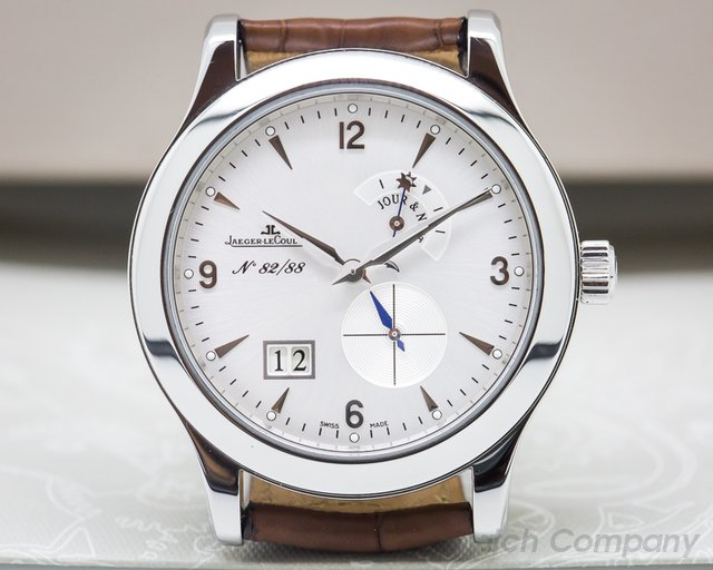 Jaeger LeCoultre 160.84.2H Master 8 Days LIMITED for the The Hour Glass