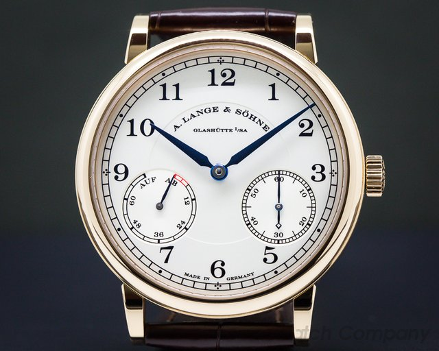 A. Lange and Sohne 234.032 1815 Up & Down 18K Rose Gold
