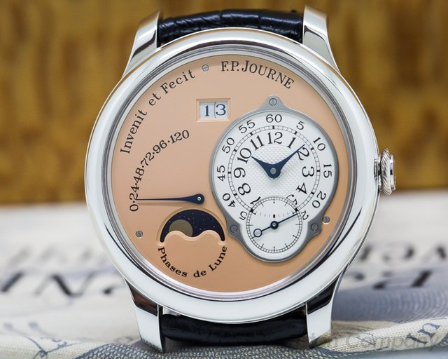 F. P. Journe  Octa Lune Automatic Platinum / Rose Dial 40MM