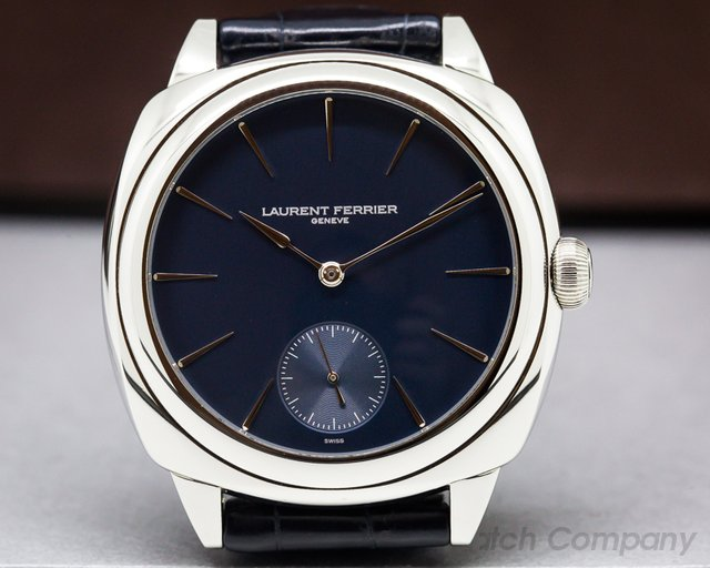 Laurent Ferrier FBN229.01 Galet Micro-Rotor Square SS Blue Dial