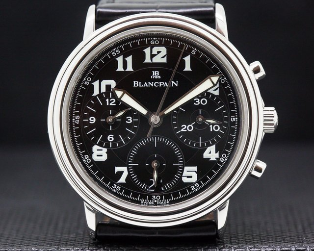 Blancpain 1185F-1130M-63 1185F Flyback Steel