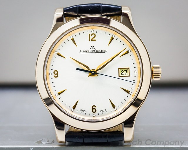 Jaeger LeCoultre Q1392420 Master Control Automatic SS 18k Rose Gold UNWORN