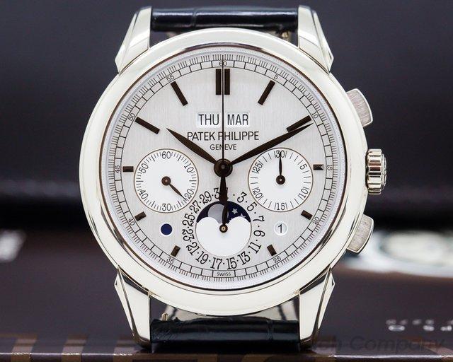 Patek Philippe 5270G-013 Perpetual Calendar Chronograph 18K White Gold