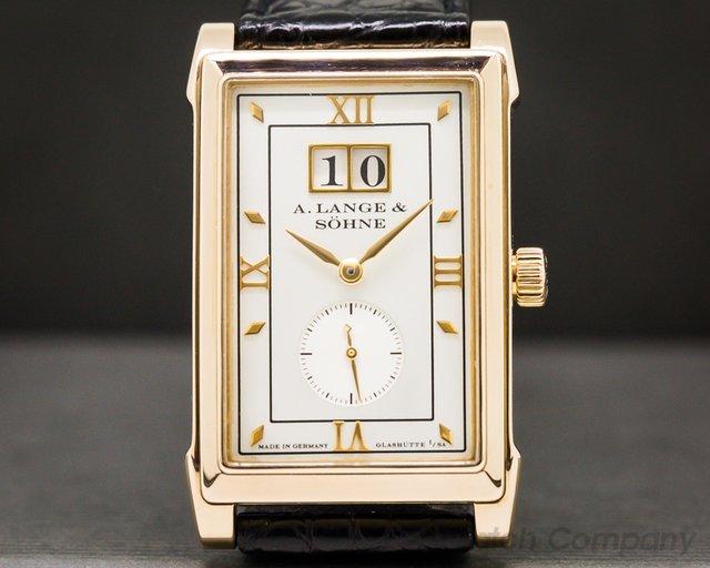 A. Lange and Sohne 107.032 Cabaret 18K Rose Gold