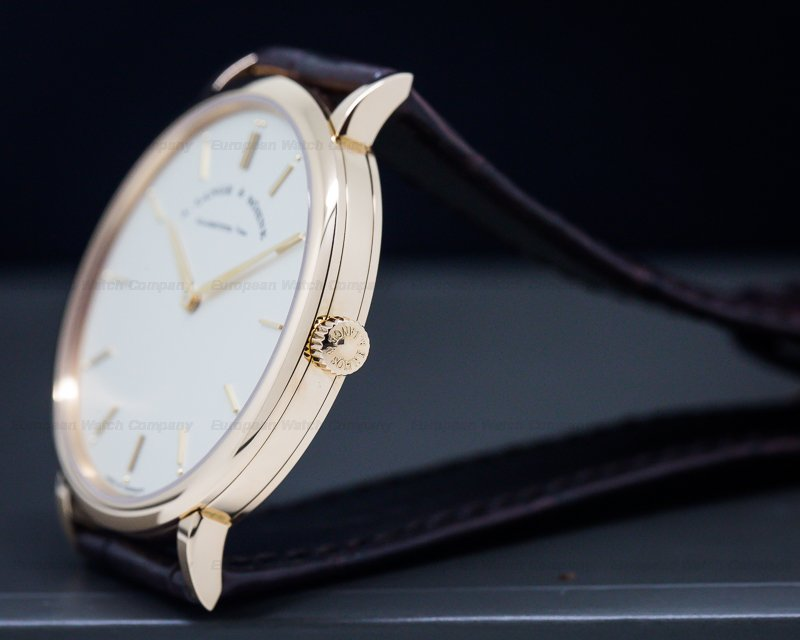 A. Lange and Sohne 211.032 Saxonia Thin Manual Wind 18K Rose Gold