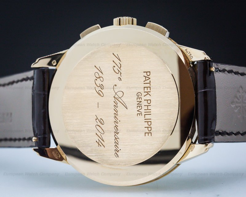 Patek Philippe 5975R-001 175th Anniversary Chronograph Rose Gold Limited