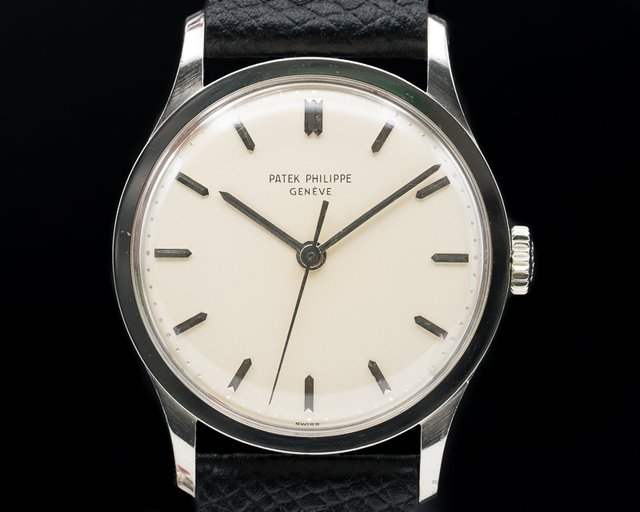 Patek Philippe 570 Calatrava Manual Wind 18K White Gold OUTSTANDING CONDITION