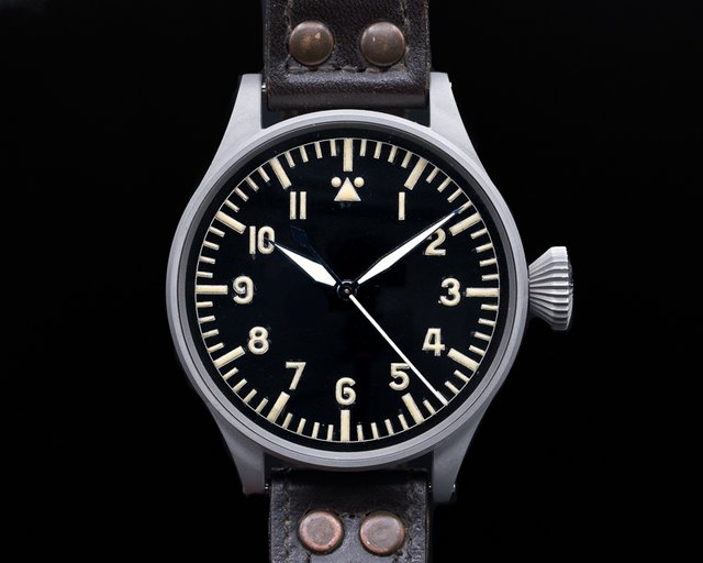 "IWC 431 Grosse Fliegeruhr 431 German Military ""B-Uhr"" 55MM"