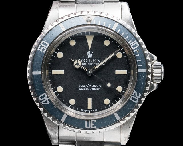 "Rolex 5513 Vintage ""Non-Serif"" Matte Dial Submariner INCREDIBLE FULL SET"