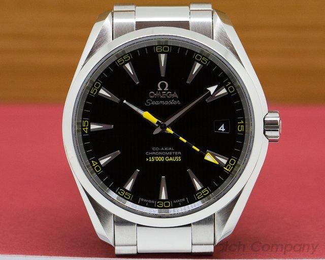 Omega 23110422101002 Aqua Terra Co-Axial 150M Black Dial SS