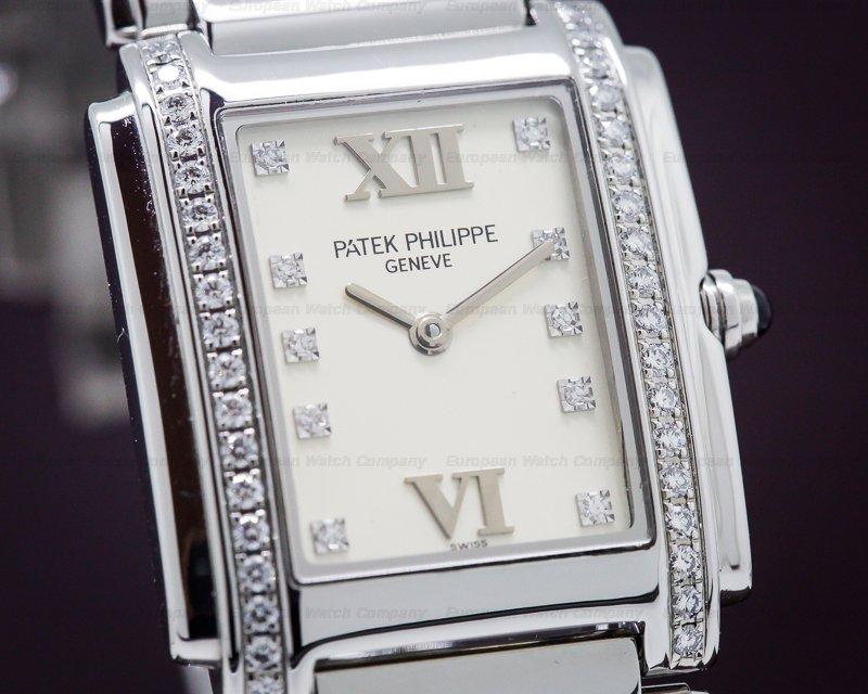 Patek Philippe 4910/10A-011 Twenty-4 Cream Dial SS / SS
