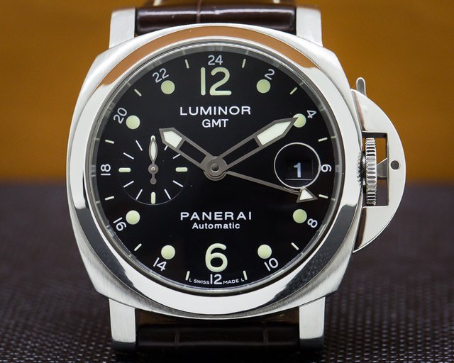 Panerai PAM00159 Luminor GMT SS