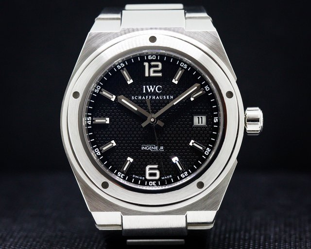 IWC IW322701 Ingenieur Automatic SS/SS Black Dial 42MM