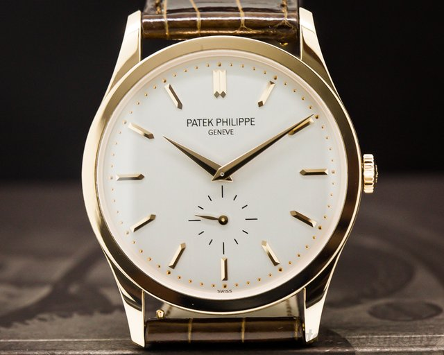 Patek Philippe 5196R-001 Calatrava Manual Wind 18K Rose Gold