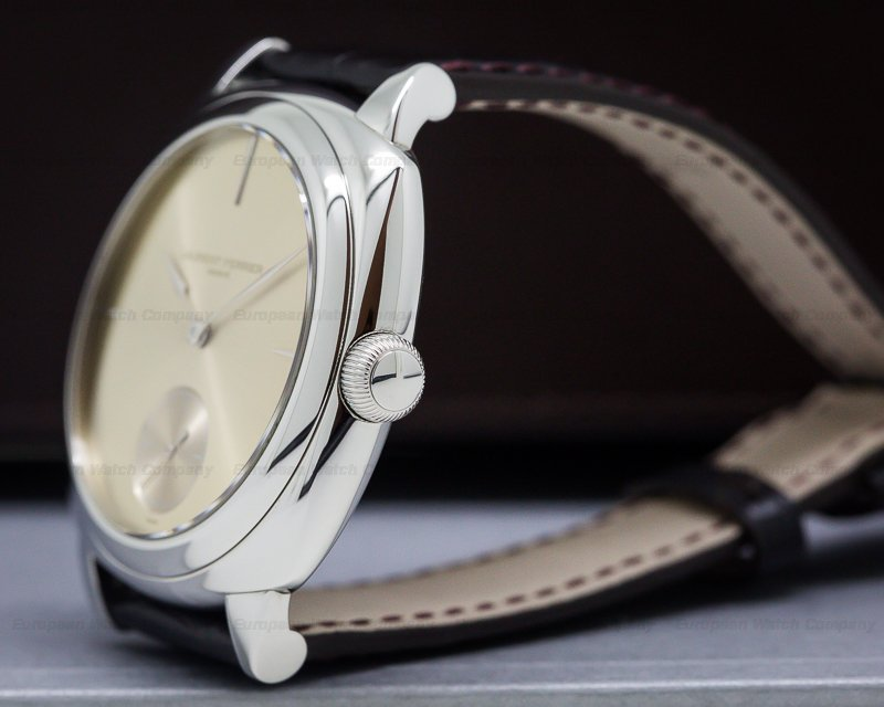 Laurent Ferrier LC013.AC.JG1 Galet Micro-Rotor Square SS Gold-Toned Sunburst Dial