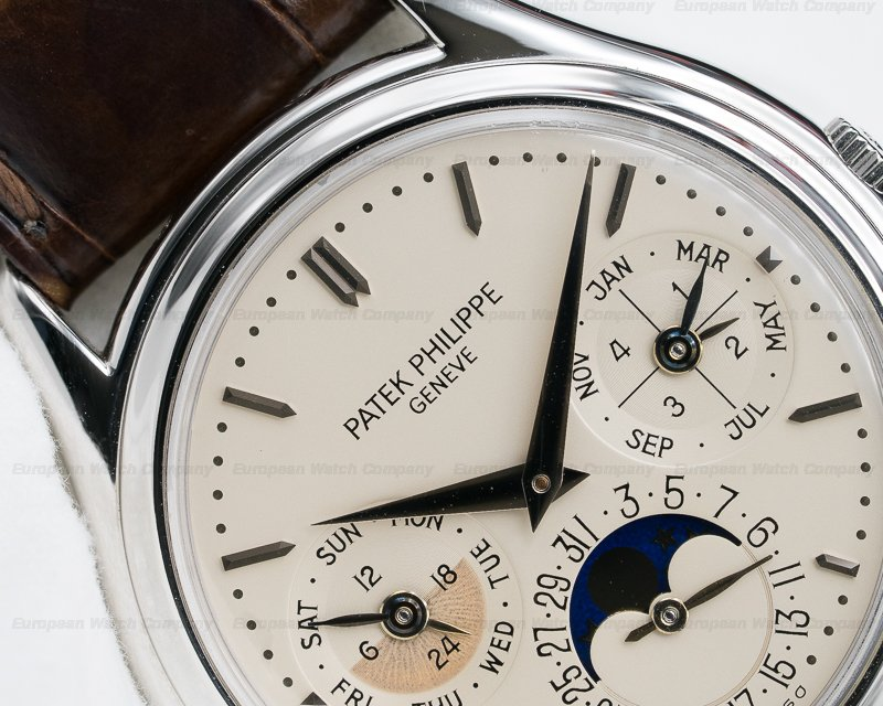 Patek Philippe 3940P Perpetual Calendar Platinum EARLY MODEL + EXCELLENT CONDITION