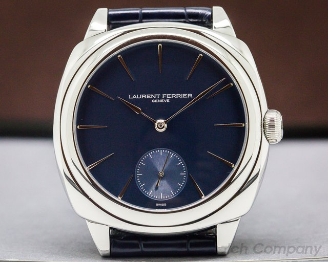 Laurent Ferrier FBN229.01 Galet Micro Rotor Square SS Blue Dial