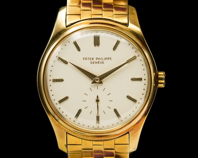 Patek Philippe 2526 Vintage Calatrava Automatic Enamel Dial 1st Series UNPOLISHED 18K Yellow