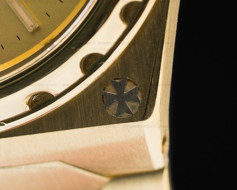 Vacheron Constantin 222 Overseas 222 Vintage 18k Yellow Gold ORIGINAL CERTIFICATE + PROVENANCE