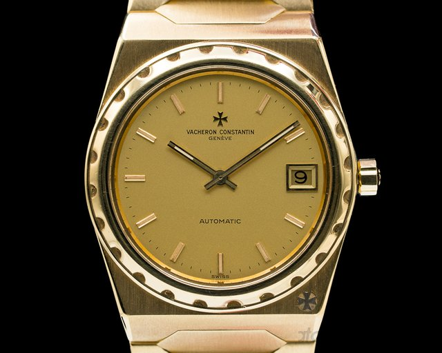 Vacheron Constantin 222 Overseas 222 Vintage 18k Yellow Gold ORIGINAL CERTIFICATE + PROVENANCE