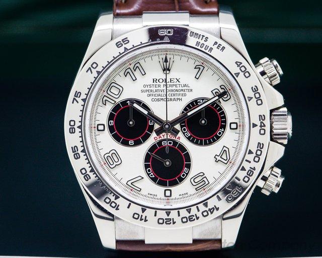 Rolex 116519 WA Daytona 18K White Gold / Panda Dial