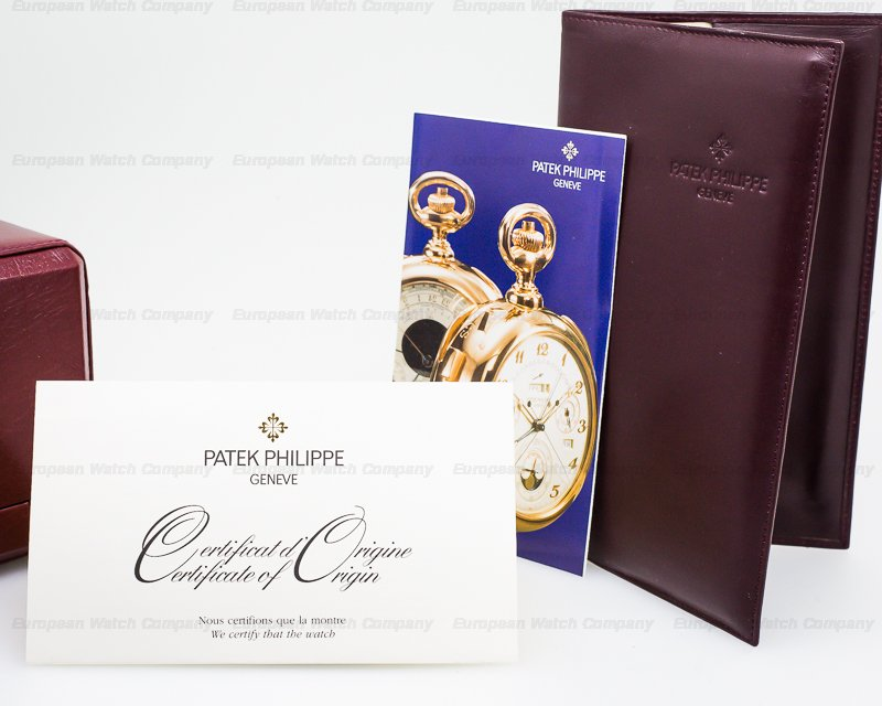 Patek Philippe 5050G-001 Retrograde Perpetual Calendar 18K White Gold UNPOLISHED