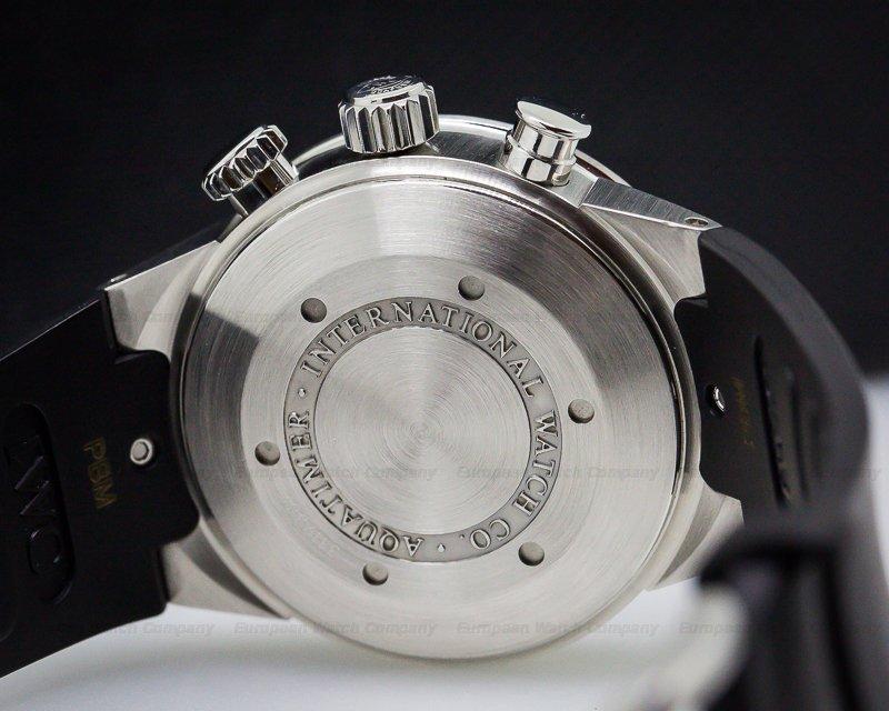 IWC 3719 Aquatimer Chronograph SS / Rubber