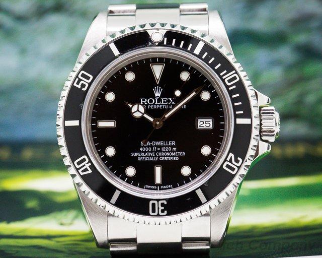 Rolex 16600 Sea Dweller SS / SS FULL SET